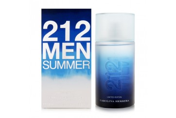 CAROLINA HERRERA 212 MEN SUMMER EDT 100ML