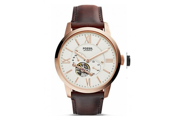 Fossil Townsman Automatic Dark Brown Leather ME3105