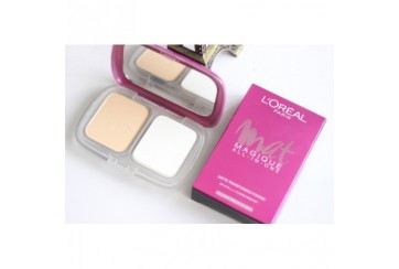 L'Oreal Paris Mat Magique All-In-One Matte Transforming Powder SPF34 R1 Rose Ivory