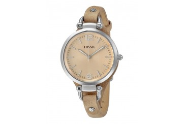 Fossil Georgia Bone Leather Watch ES2830