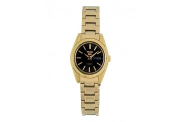 SEIKO 5 Automatic (Self Winding) Gold Tone Ladies Watch SYMK22K1
