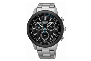 SEIKO 100m Chronograph Gents Watch SSB217P1