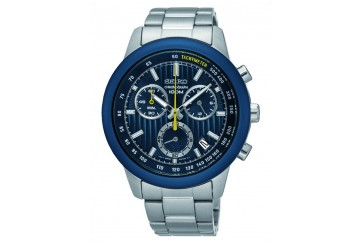 SEIKO 100m Chronograph Gents Watch SSB207P1