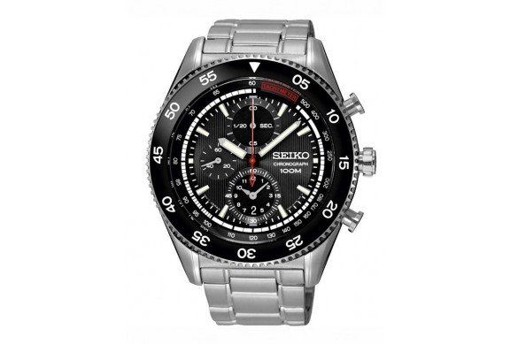 SEIKO 100m Chronograph Gents Watch SNDG57P1