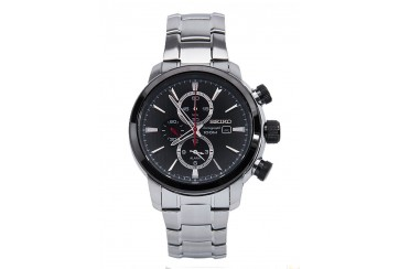 SEIKO 100m Chronograph Gents Watch SNAF47P1