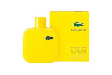 LACOSTE L.12.12 JAUNE OPTIMISTIC EDT 100ML